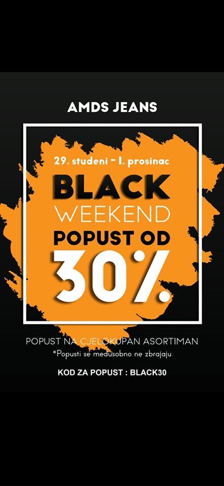 29.11. – 01.12.2019.  Popusti -30% u  AMDS trgovini