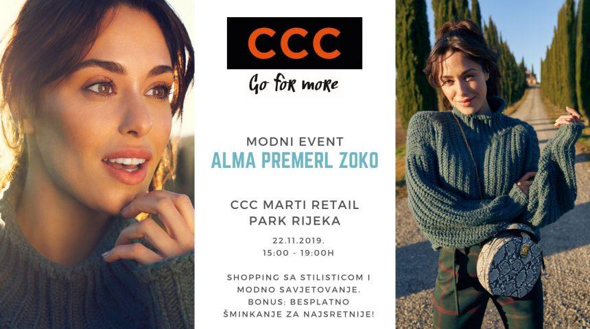 CCC modno događanje 22.11.2019.