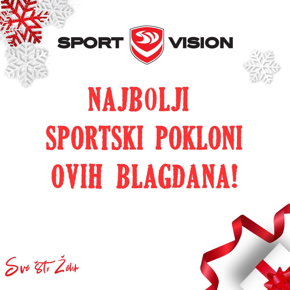 Sport Vision – vrijeme darivanja