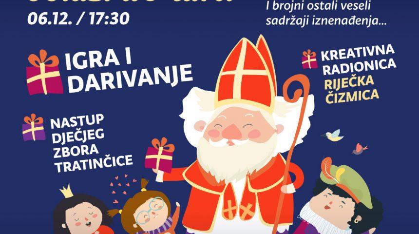 Sv. Nikola daruje 300 poklona u Martiju 06.12.2019. od 17.30 sati