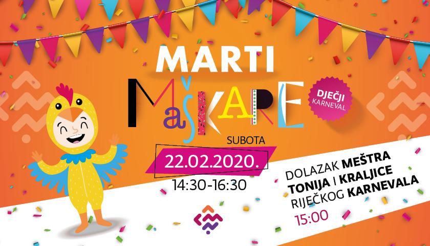MARTI dječji karneval 22.02.2020.