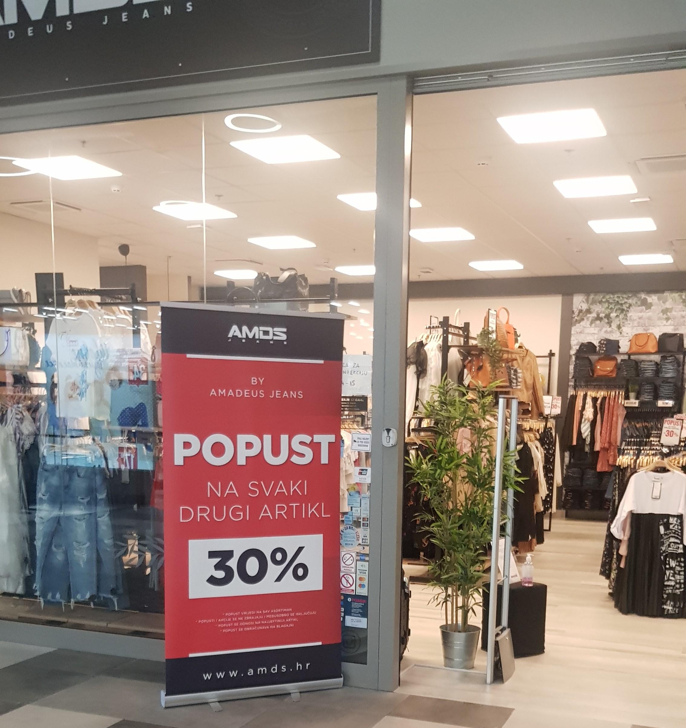 AMDS jeans popust 30% na svaki drugi artikl