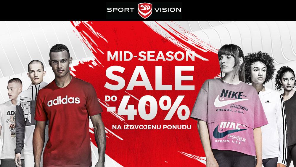 Sport Vision :  Mid Season Sale – 40%