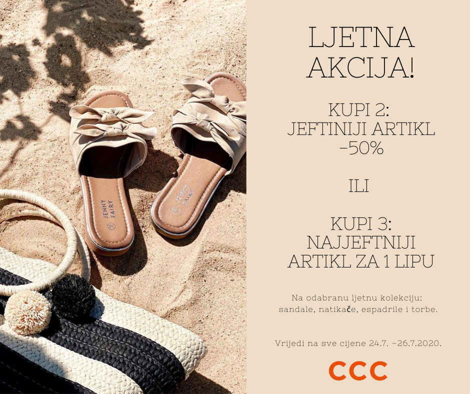CCC ljetna vikend akcija do 26.07.