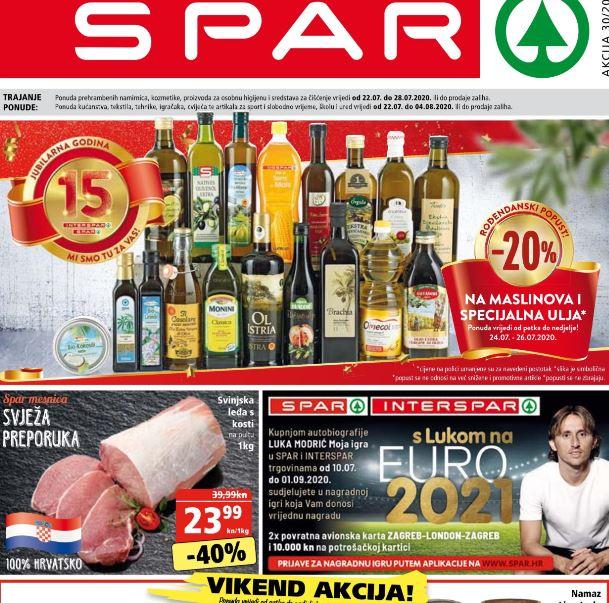 SPAR vikend akcija do 26.07.