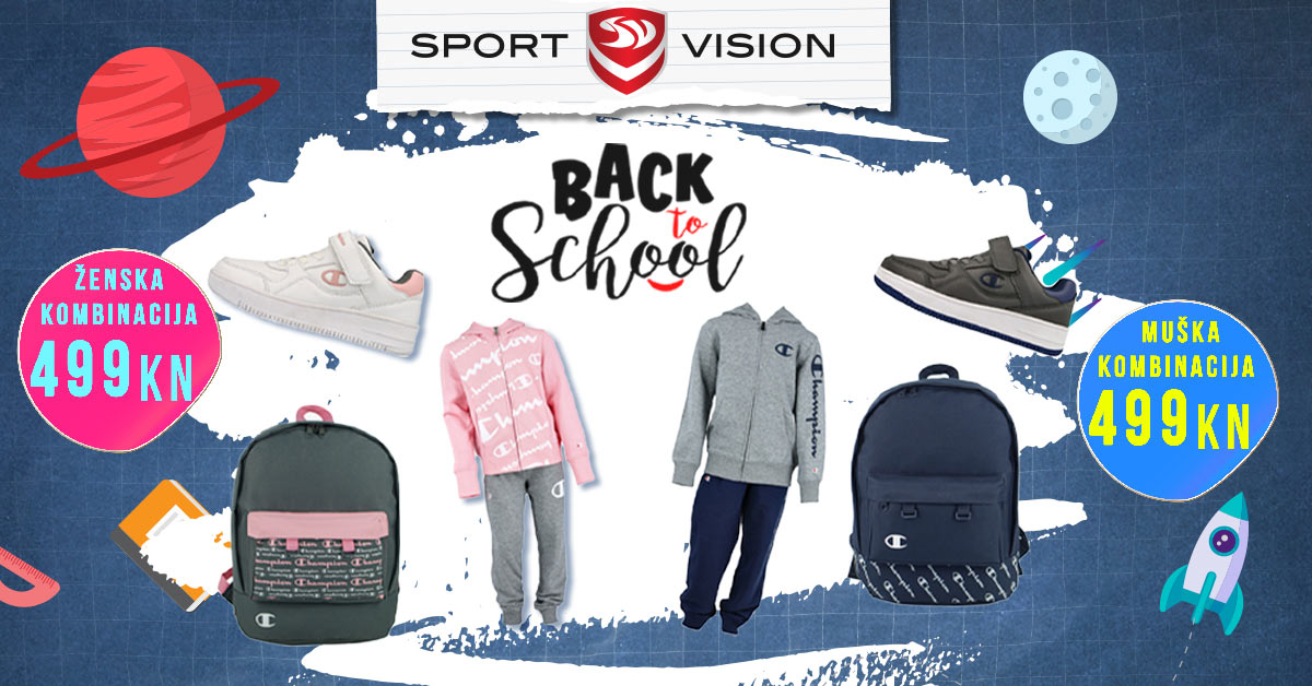 Sport Vision Back to School akcija