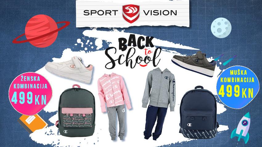 Sport Vision super akcija za školarce – sve u jednom paketu