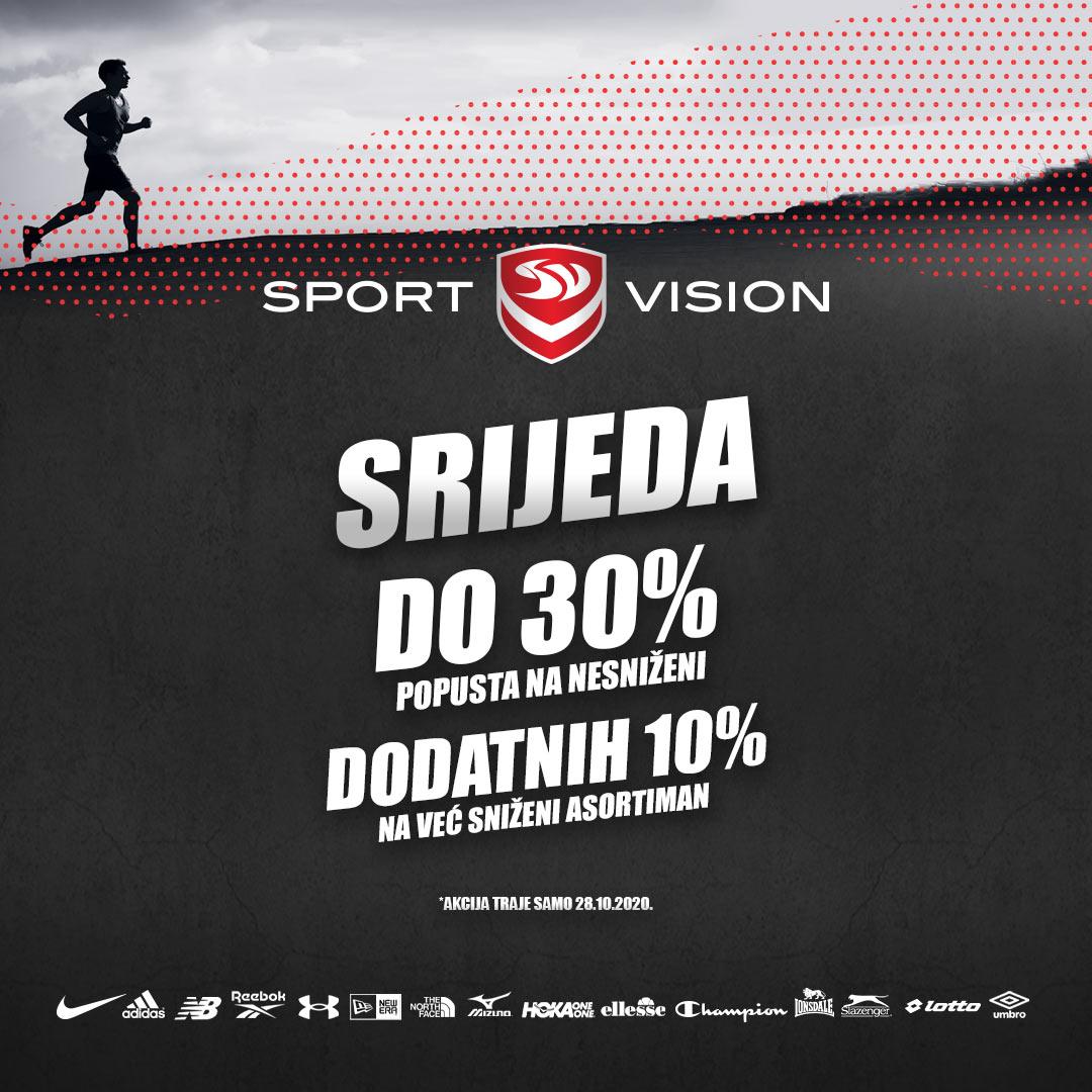 Sportska srijeda u Sportvisionu