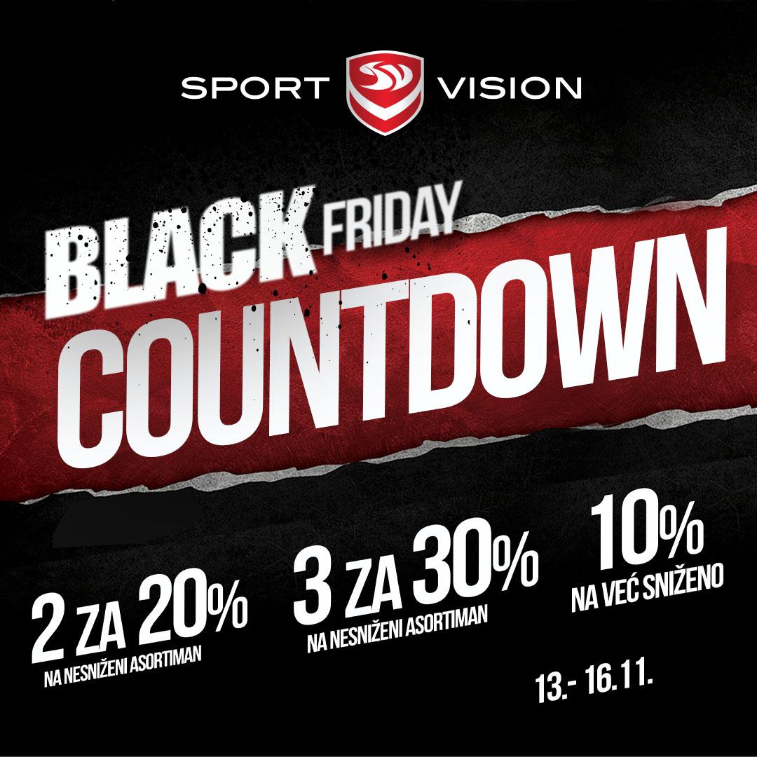 Sport Vision Black friday odbrojavanje