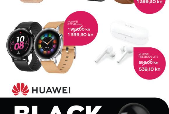 MOBIA  – Black Friday popusti Huawei smart watch od 25. do 29.11.2020.