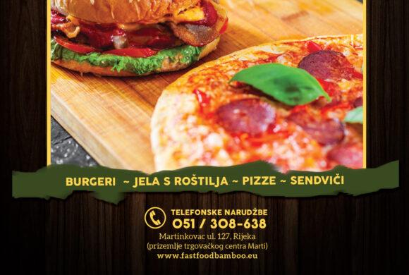 GRATIS 1l Coca Cola uz narudžbu velike pizze do 03.12.  – Fast Food Bamboo – dostava i osobno preuzimanje