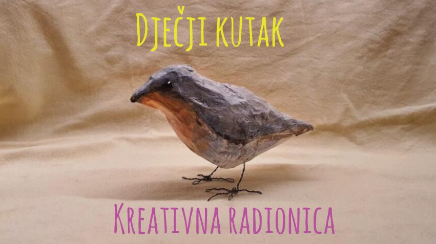 Prva objava za Marti dječji kutak – kako izraditi ptičicu