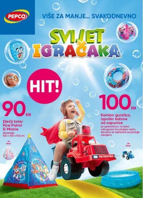 Pepco letak – svijet igračaka