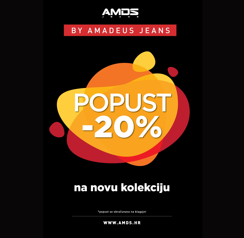 Rođendanski popust u AMDS Marti 11. i 12. lipnja popust na novu kolekciju 20%