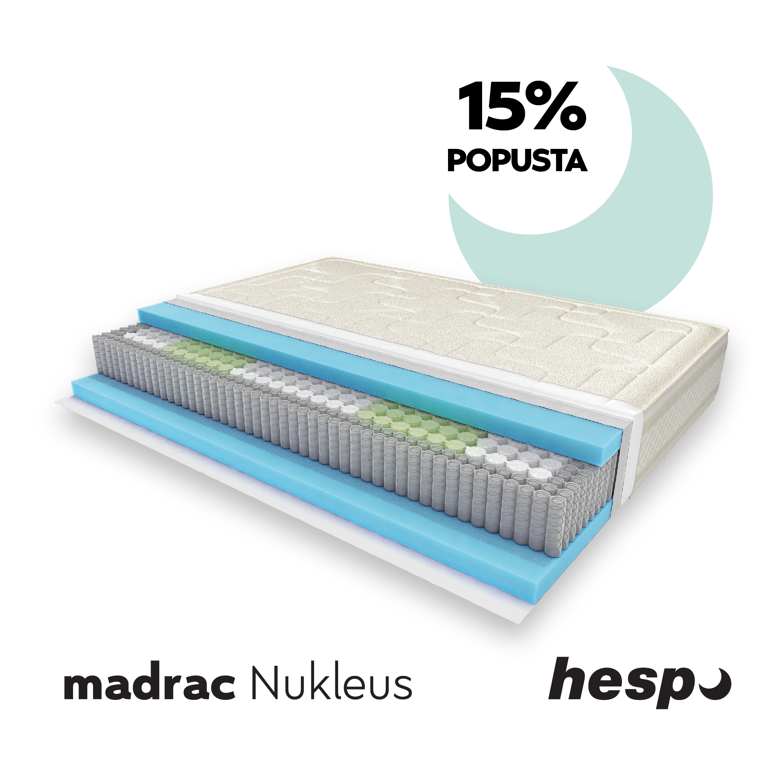 Hespo popust 15% na madrac Nukleus do 30.lipnja