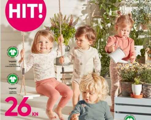 Pepco odjeća za bebe od organskog pamuka