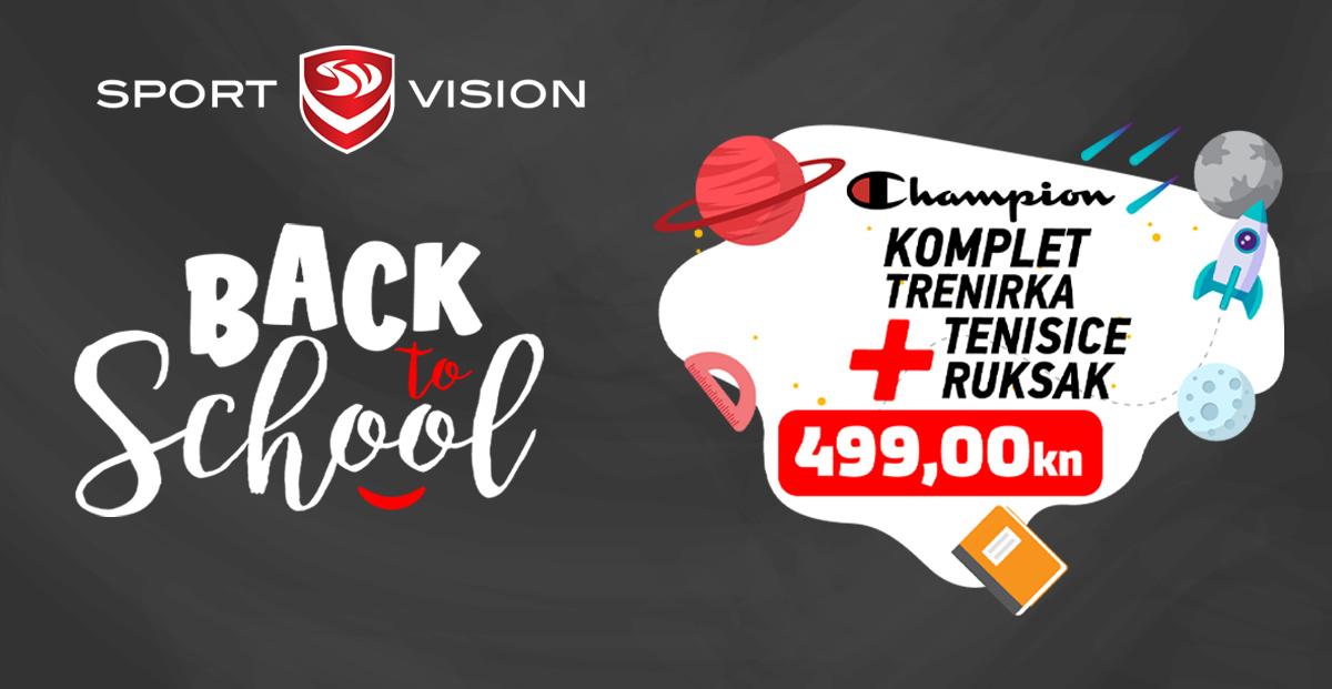 Sport Vision – back to school akcija