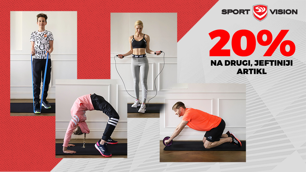 Do 12.09. posebna akcija u Sport Vision Marti