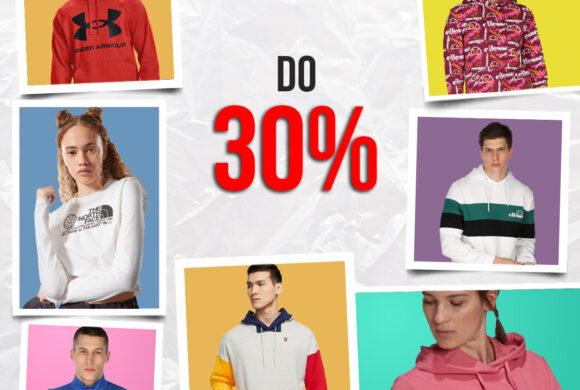 Do 25.10. čeka te do -30% na odabrani nesniženi asortiman i dodatnih -10% na već sniženi asortiman – Sport Vision Marti
