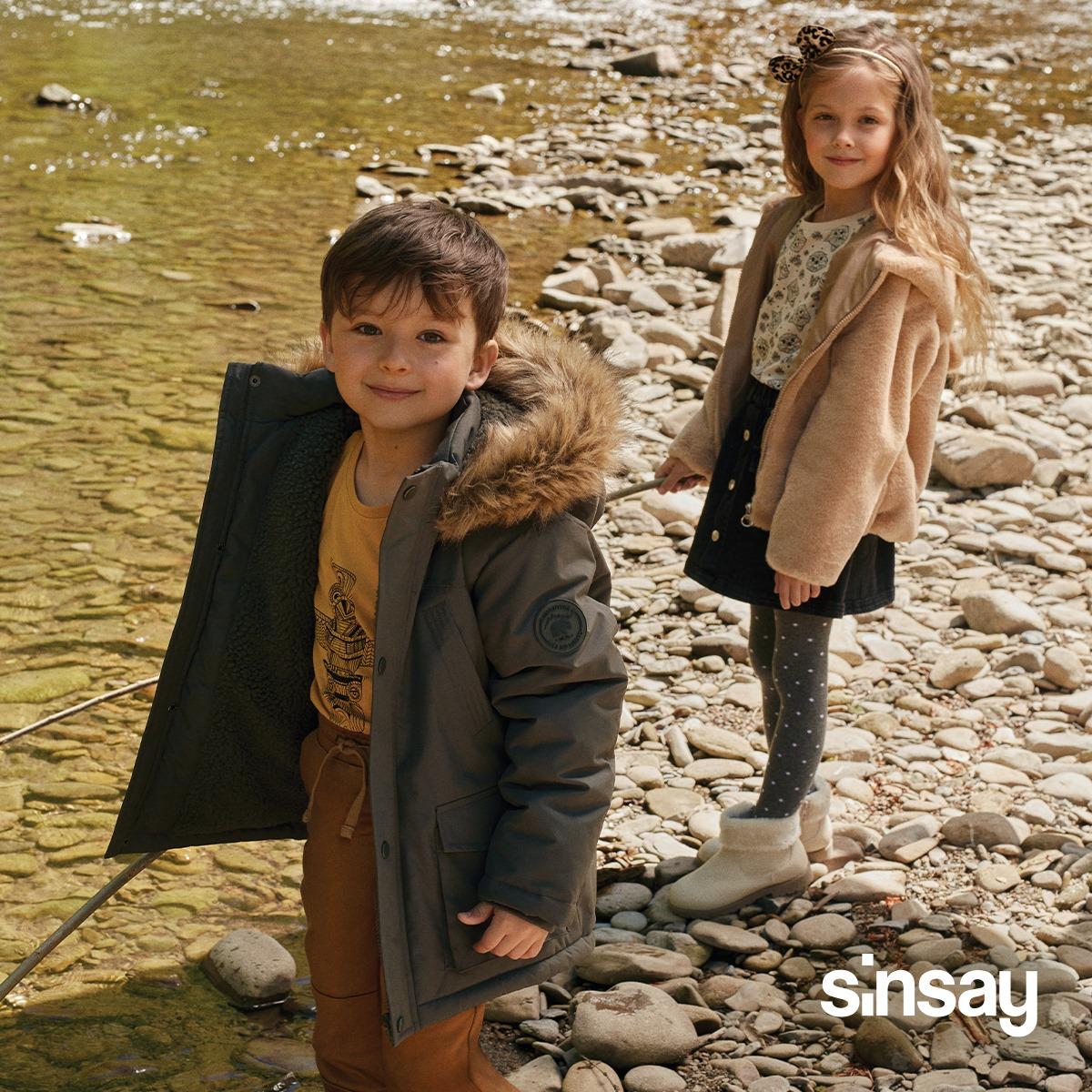 Pripremite vaše mališane za jesen u Sinsay Marti